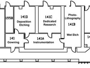 Floor Plan of the CBC Cleanroom Facility